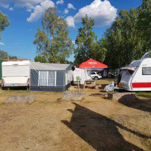 Rörholmsbadets camping husvagnsplatser