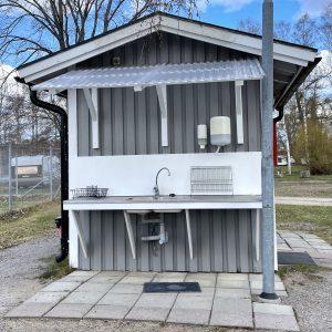 WC, vatten, disk, latrintömning